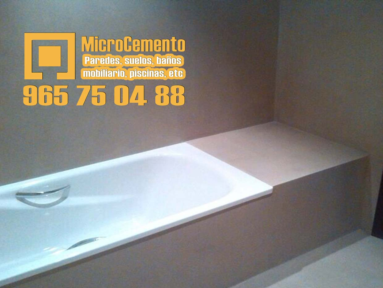 Precio microcemento para ba os suelos paredes en denia - Aplicacion de microcemento en paredes ...