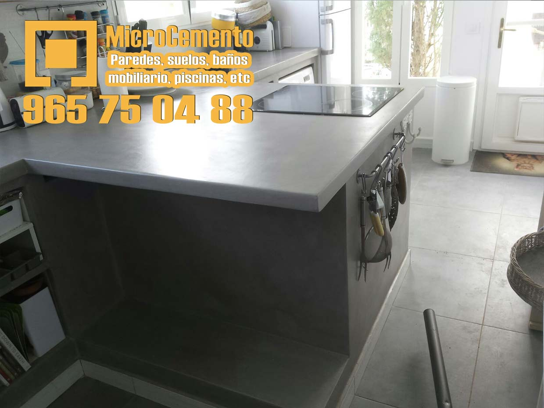Precio microcemento para ba os suelos paredes en denia for Microcemento paredes cocina