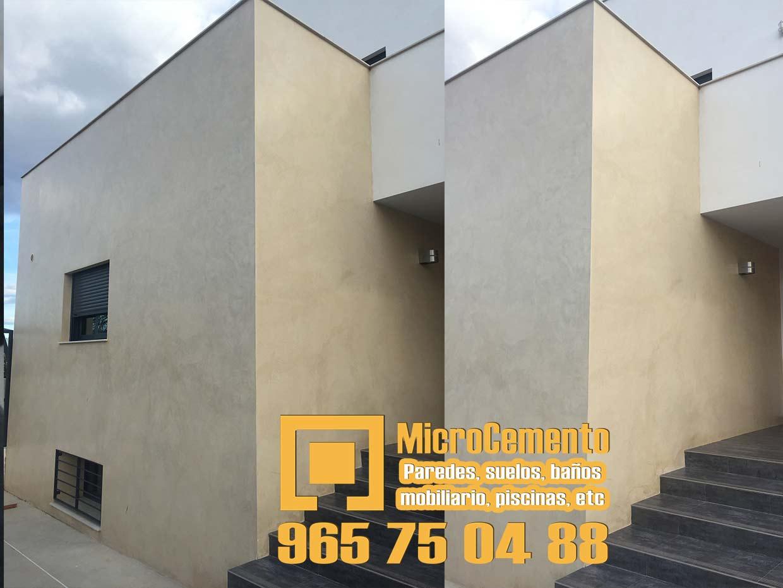 Precio microcemento para ba os suelos paredes en denia - Microcemento para exterior ...