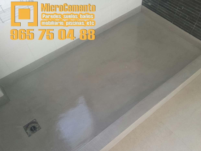 Precio microcemento para ba os suelos paredes en denia - Suelo microcemento precio ...