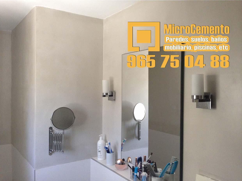 Precio microcemento para ba os suelos paredes en denia - Microcemento banos precio ...