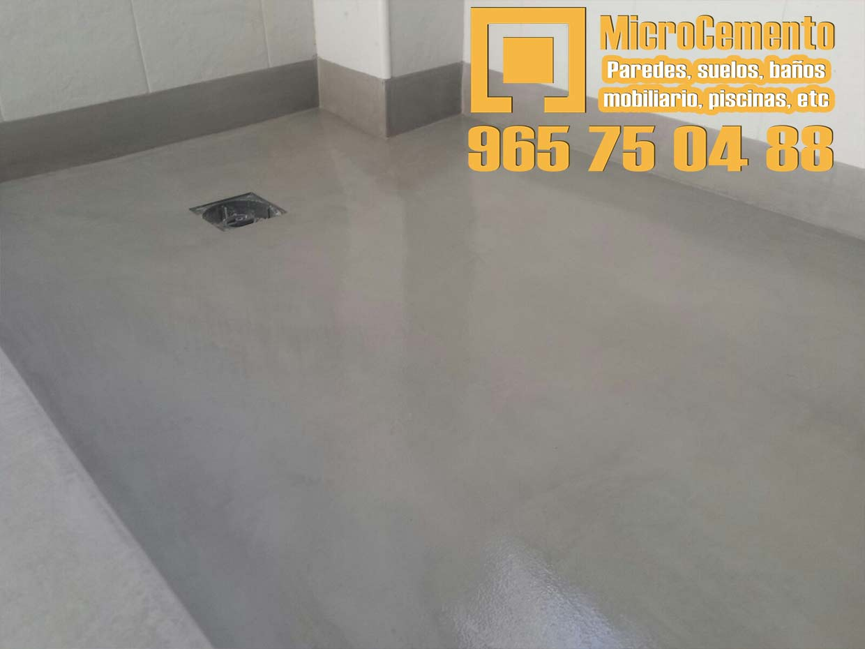Precio microcemento para ba os suelos paredes en denia altea javea moraira - Encimeras de microcemento ...